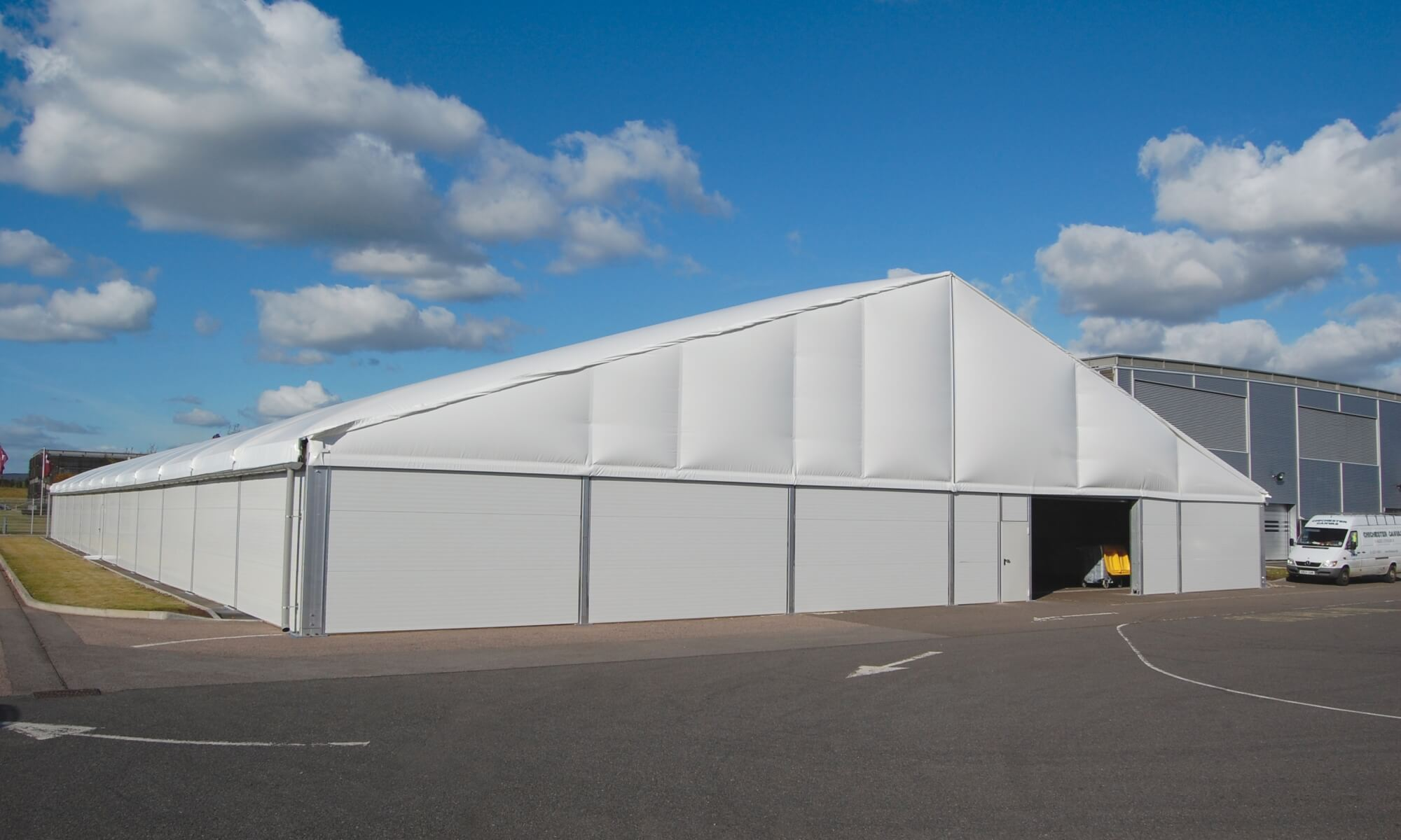 Warehouse marquees
