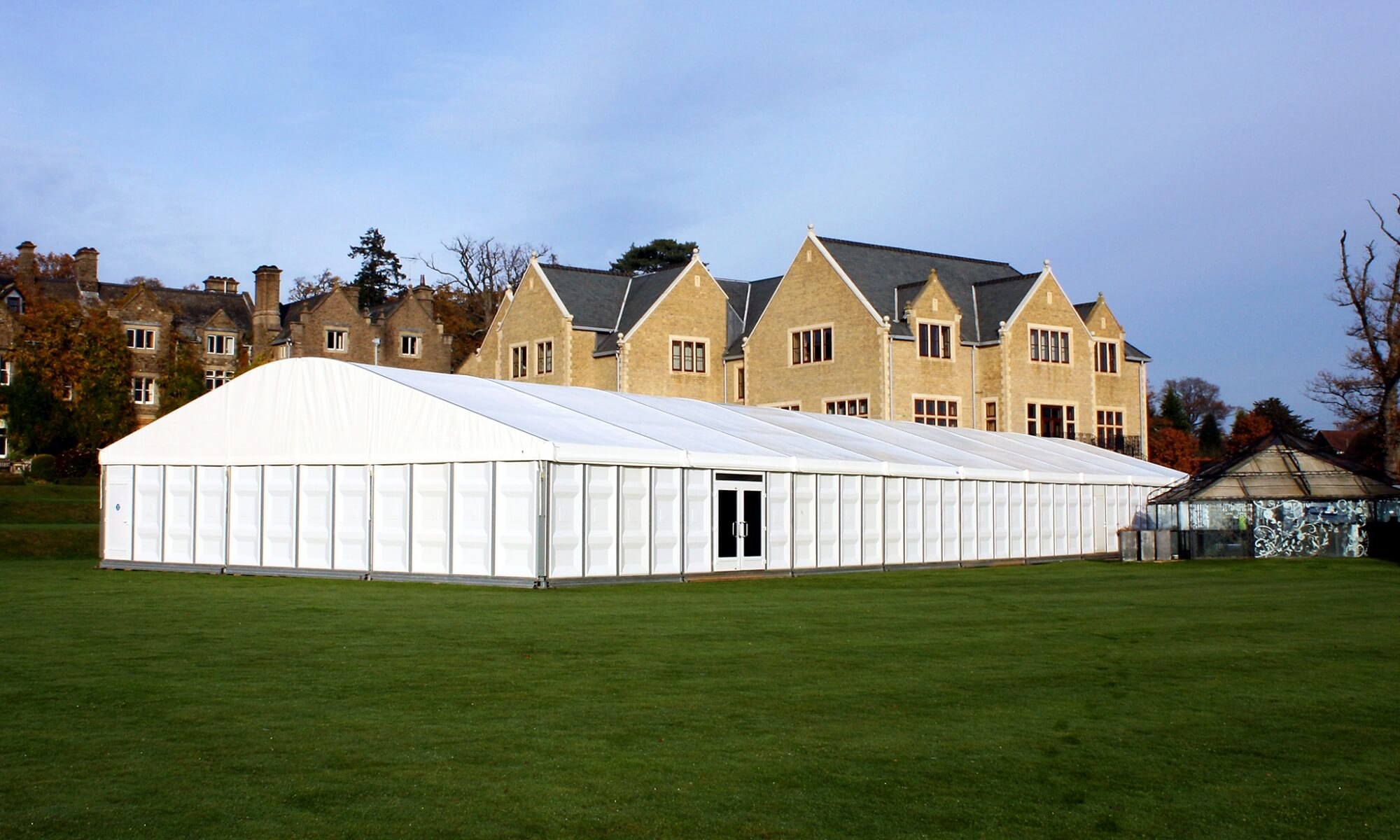 Semi Permanent Marquee Hire