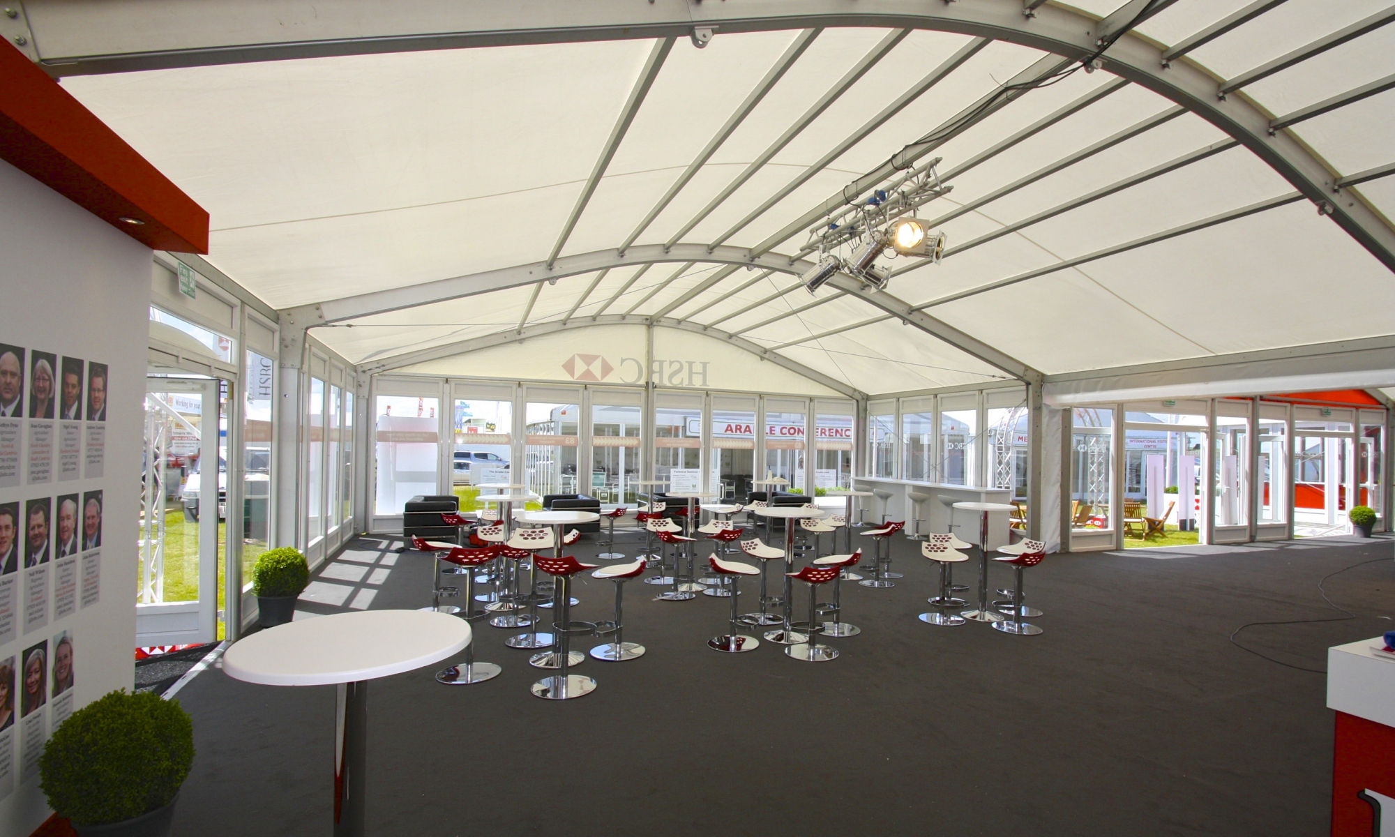 Cereals marquee hire