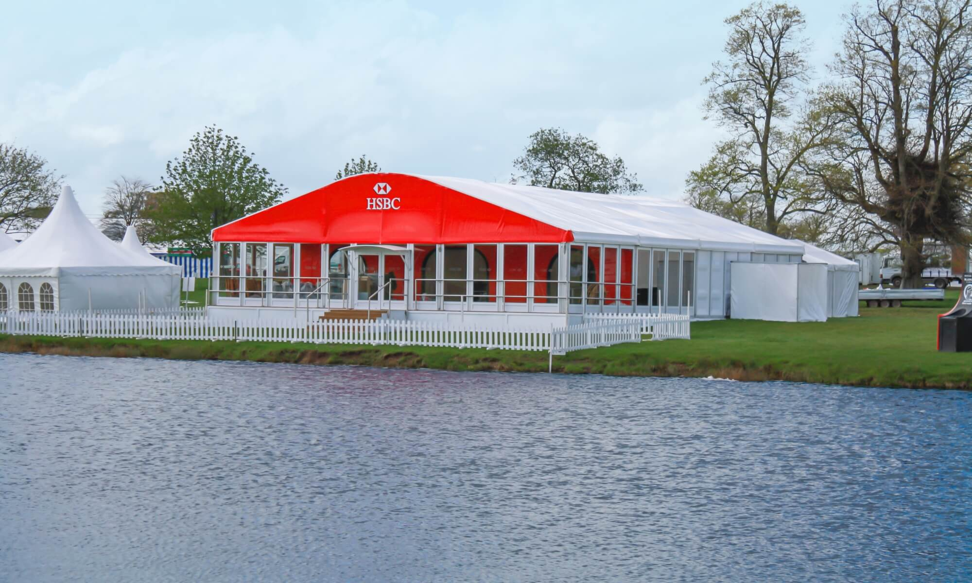 Marquee pavilion