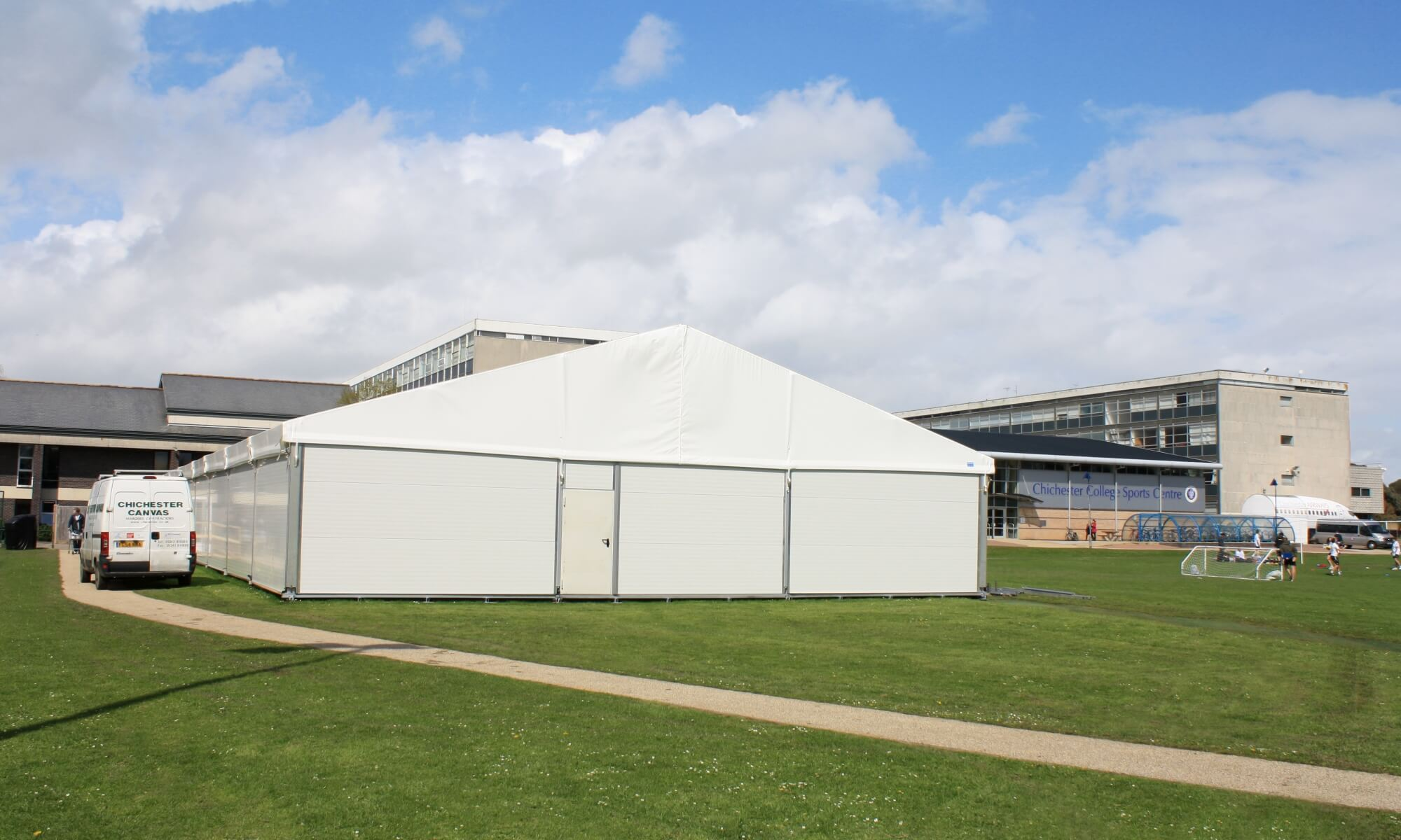 Temporary structure hire