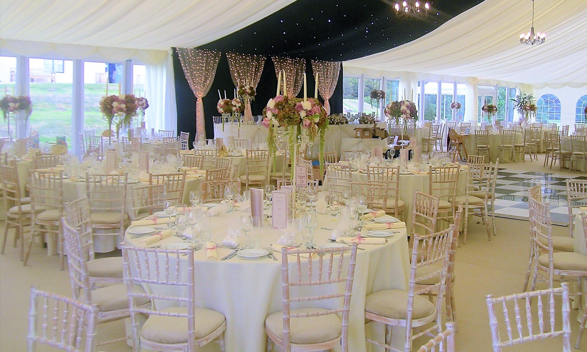 Wrest Park Marquees