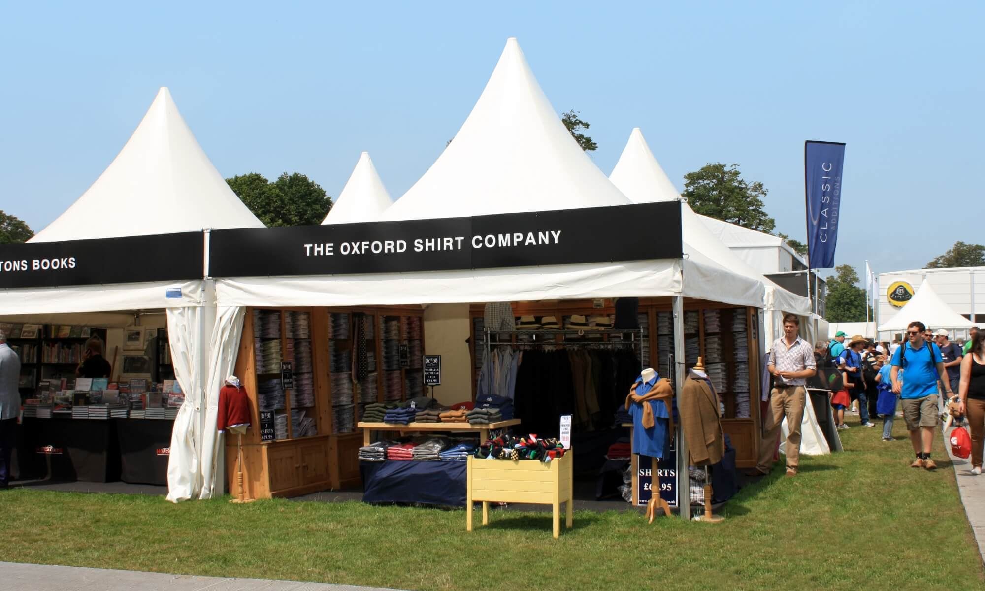Marquee trade stand