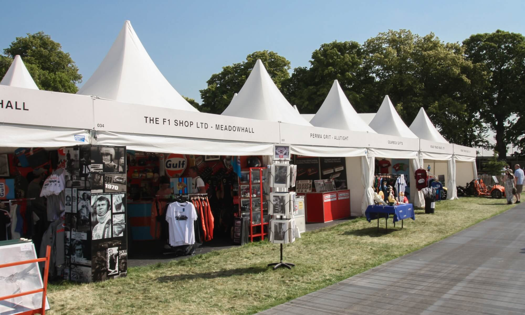 Marquee trade stands